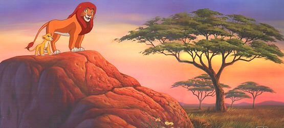 Lion King Art show now in What's New!