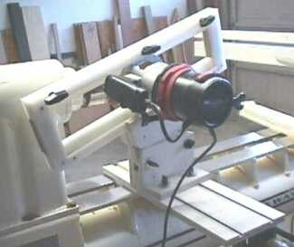 Jig with router