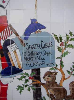 North Pole Zip Code Santas Address