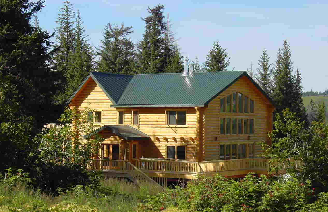 Image Log Cabin Kits Alaska Download